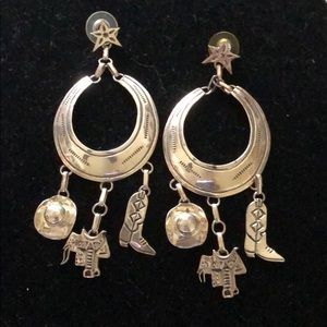 JLG sterling southwest earrings